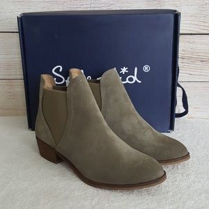 New Splendid Henri Fern Leather Booties